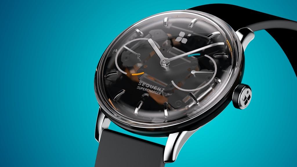 SEQUENT WATCH: the world's first self-charging smartwatch project video thumbnail