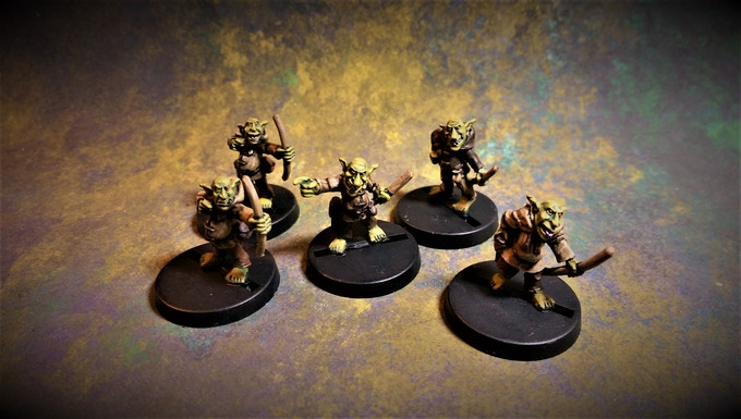 Magnificent Five on 25mm Round Bases