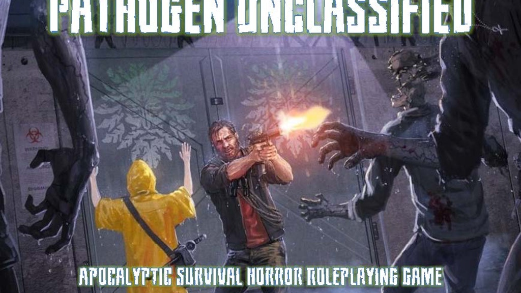 Pathogen: Unclassified a roleplaying game (RPG) project video thumbnail