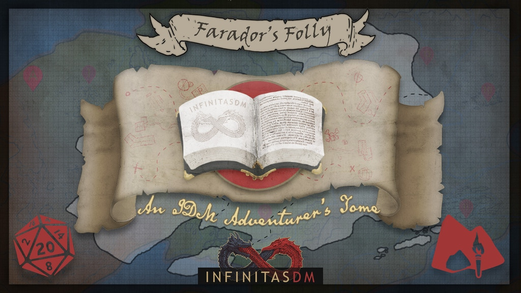 Project image for Adventurer's Tome: Farador's Folly