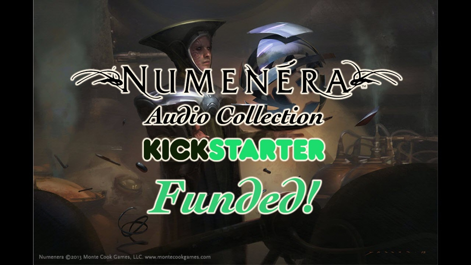 Professionally designed background loops for Monte Cook Games' Numenera setting! 112 tracks unlocked so far!