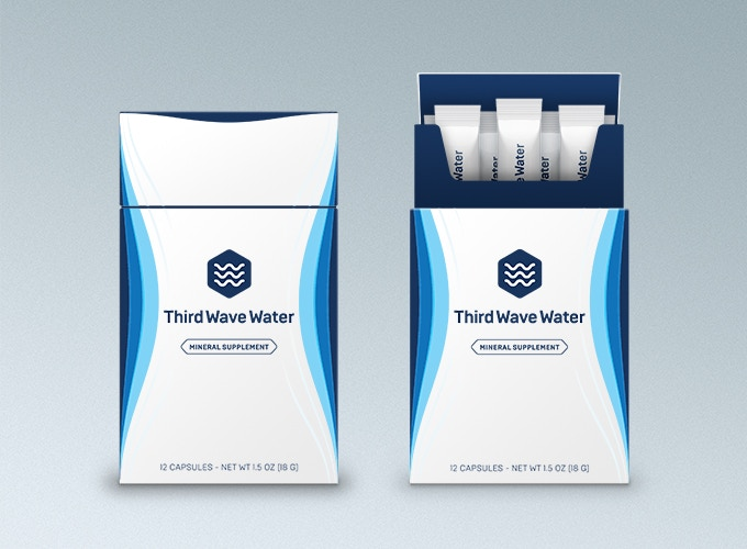 Third Wave Water Retail Packaging