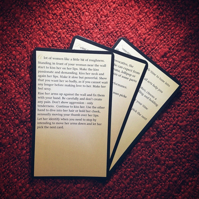 Examples of 1st level cards that require props or a special mood