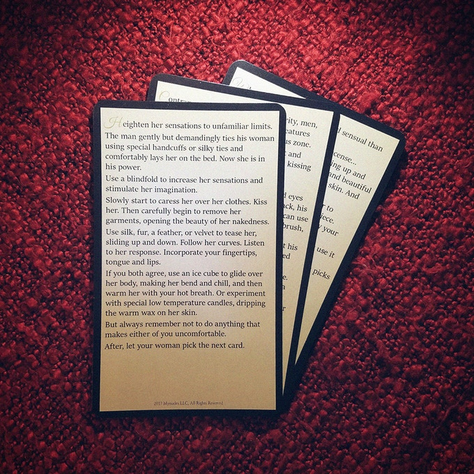 Examples of 2nd level cards that require props or a special mood