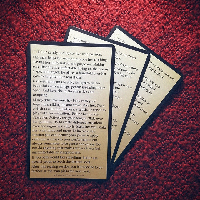 Examples of 3rd level cards that require props or a special mood