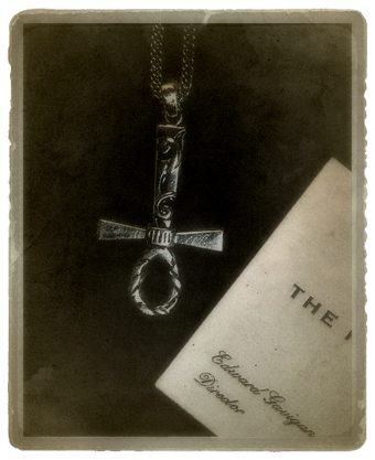 The Egyptian Inverted Ankh necklace