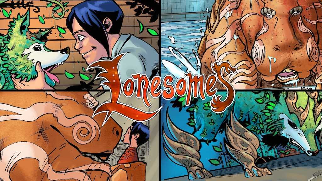 Lonesomes Issue 2 project video thumbnail