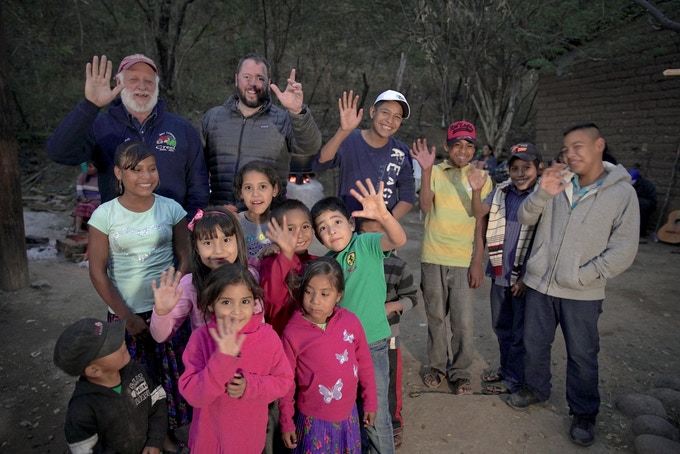 Mickey, Shane, and the next generation of the Tarahumara.