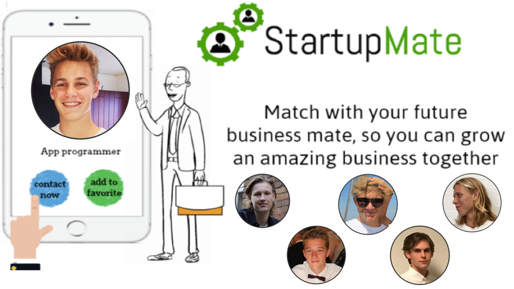 StartupMate - Connect with your future business partner by