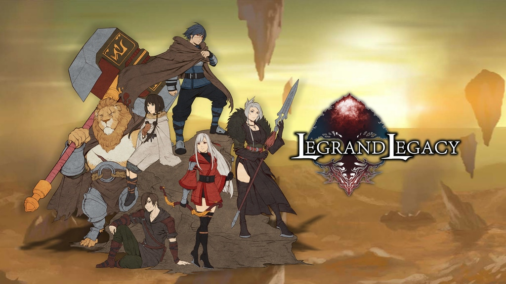 LEGRAND LEGACY - Tale of the Fatebounds project video thumbnail