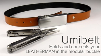 Umibelt - Holds your Leatherman in the modular buckle. EDC