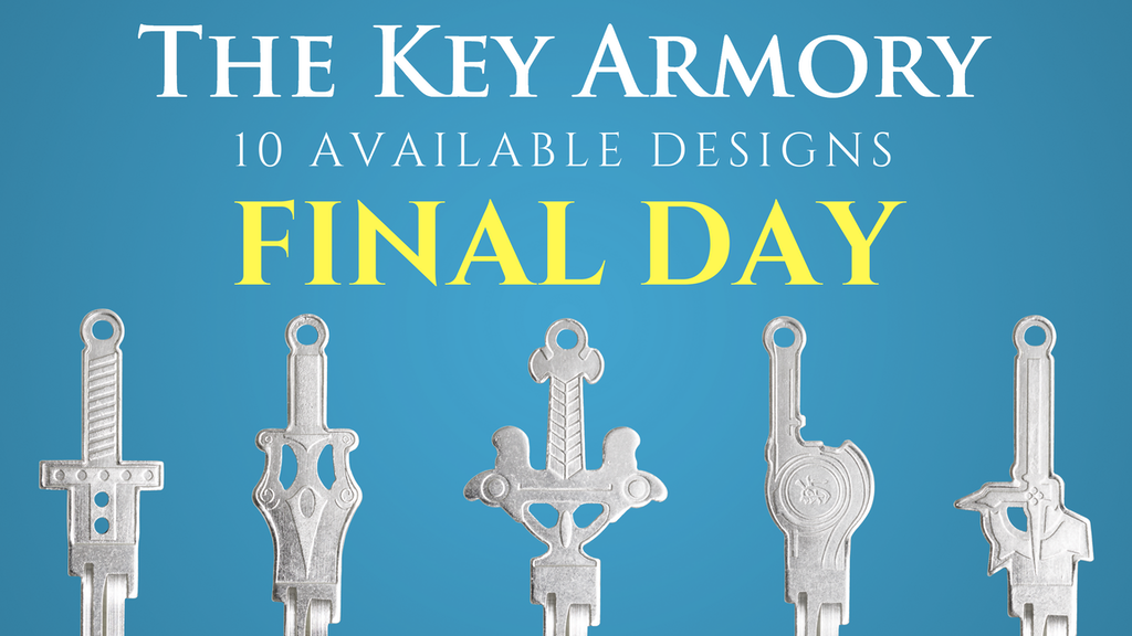 The Key Armory: Part II - SWORD SHAPED KEYS FOR YOUR HOME project video thumbnail