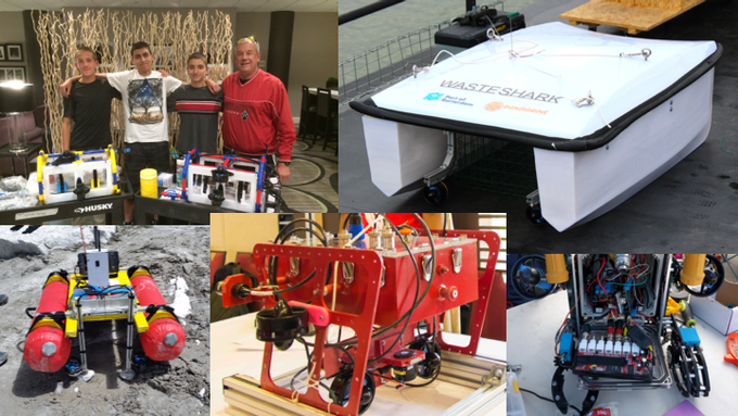 Just a few projects where our thrusters and components have been used!