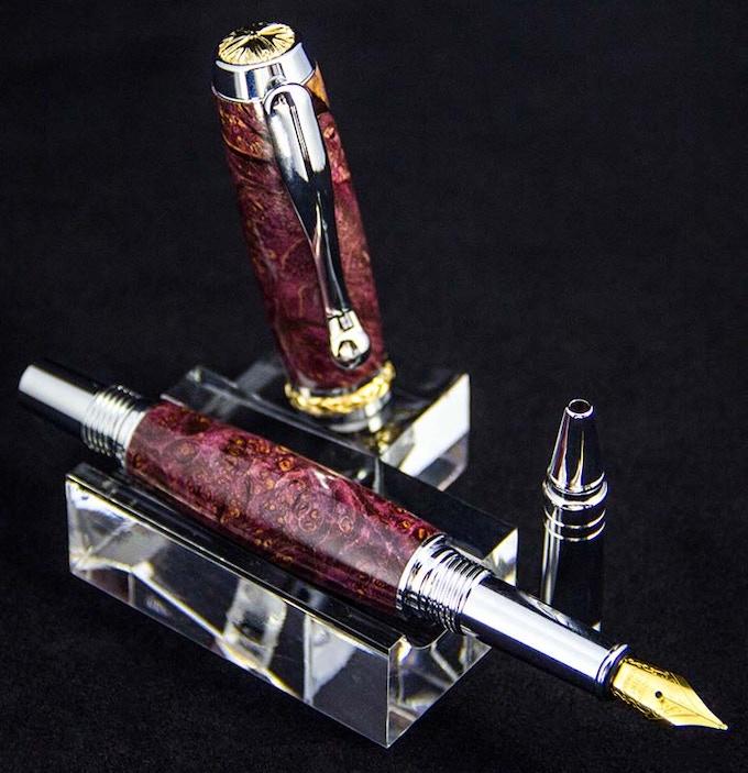 Shown with 5mm Fountain Pen nib.