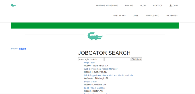 Jobgator The Easier Way To Get Your Dream Job By