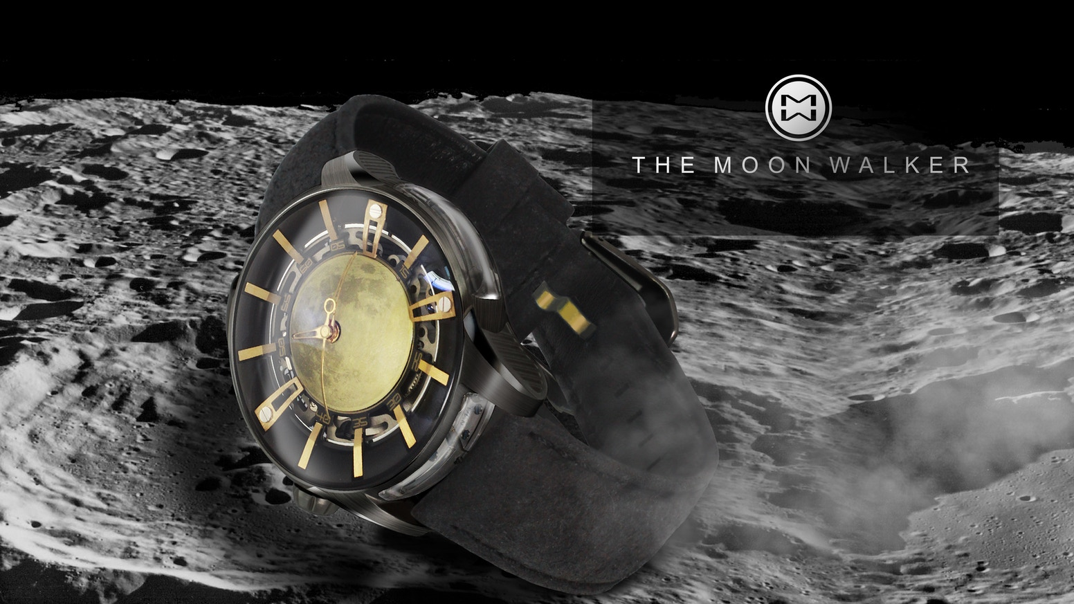 The Moon Walker A Mechanical Watch By Ovd By Ovdwatches