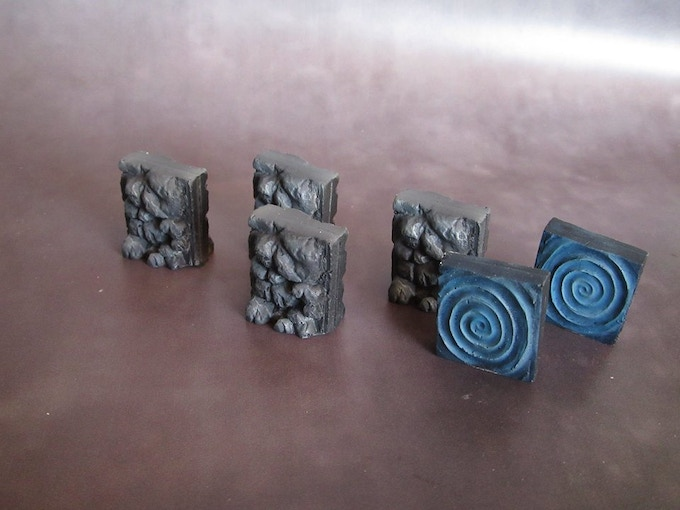 Portal and walled up doors (Supplied unpainted) 50g