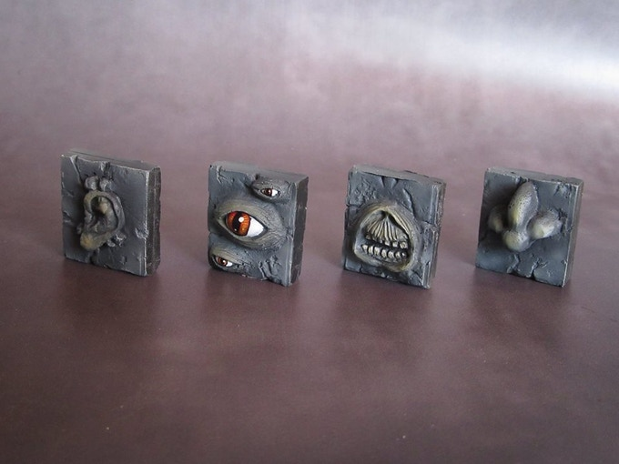 Hear no evil, See no evil, speak no evil and smell no evil? (Supplied unpainted) 50g