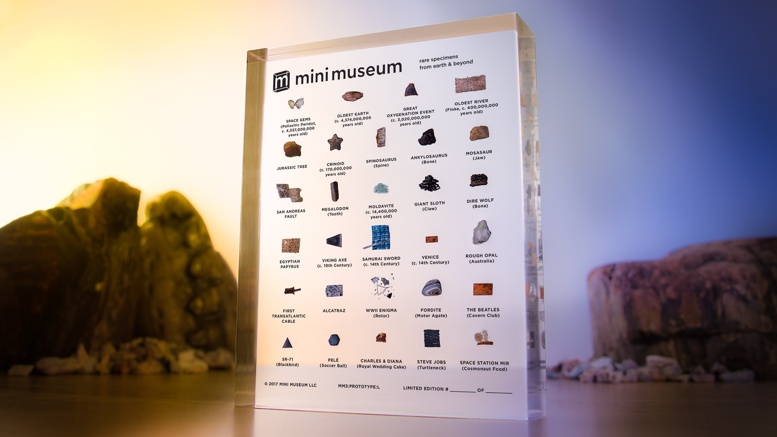 Mini Museum 3 The Third Edition By Hans Fex Kickstarter Wiring Heat Tape To Dimmer Switch Reptile Forums Information All New Billions Of Years Life Science And History In Palm