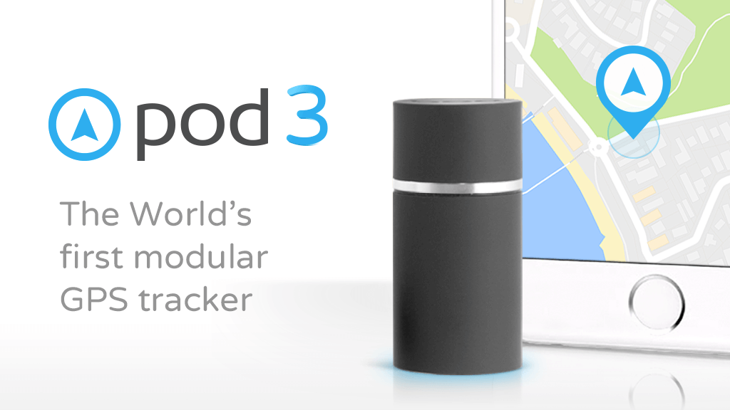 Pod 3 - The customizable GPS tracker for everything project video thumbnail