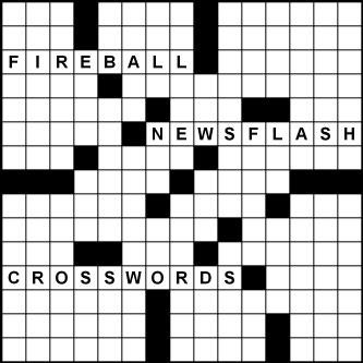 2017-18 Fireball Newsflash Crosswords by Peter Gordon