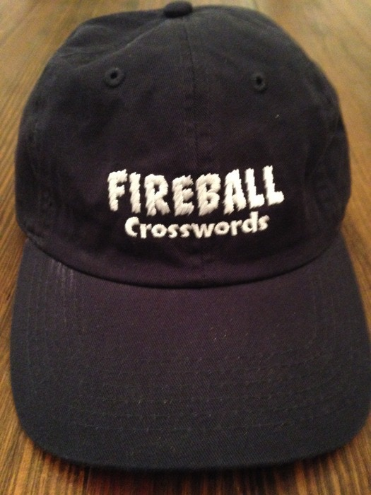 Fireball Crosswords baseball cap