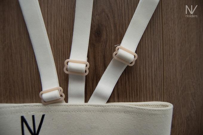 Adjustable side straps for different lengths of shirt