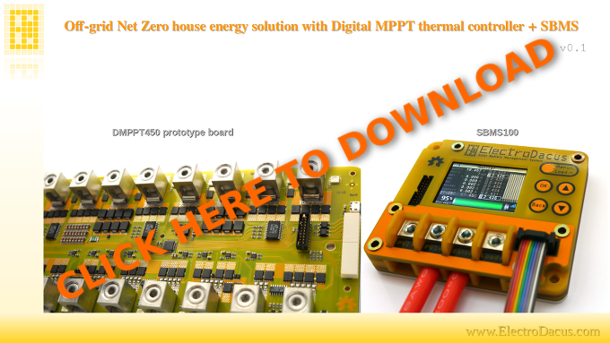 Click on image to open the pdf document explaining the Digital MPPT