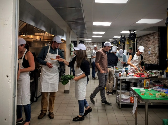If you've never yelped 'Behind!' while darting through a bustling kitchen, you haven't lived.