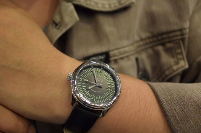 Go casual with this watch