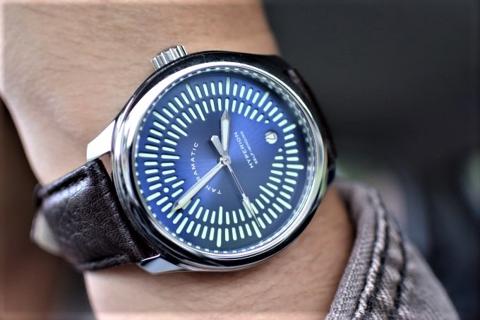 The limited edition Hyperion Azure Automatic