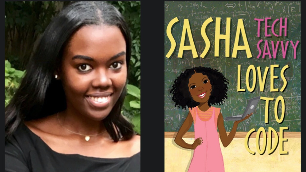 Sasha Tech Savvy Loves to Code: A STEM Children's Book project video thumbnail
