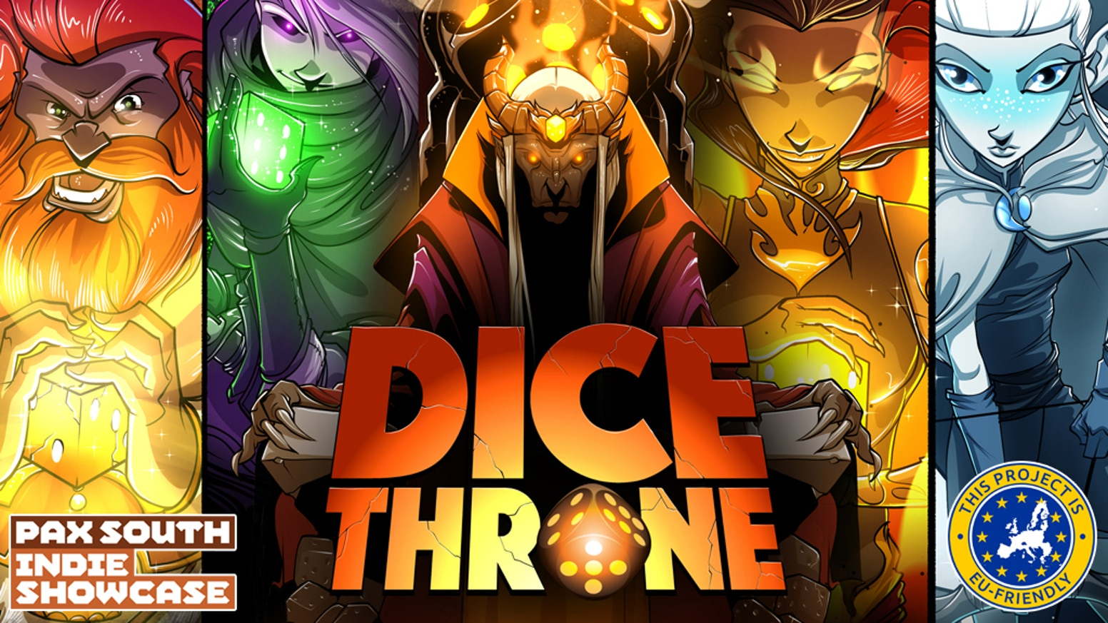 Unique dice, hero classes, battles, upgrades, & glory! Play 1v1, 2v2, 3v3, or free-for-all in this 20-40 minute action packed game!