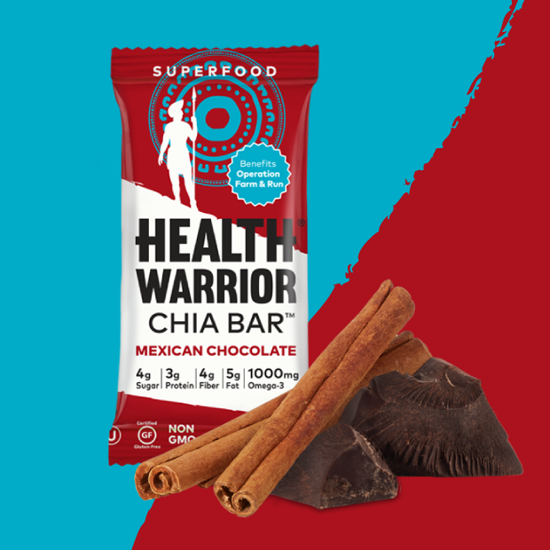 Backers at the $5 level will receive two individual Mexican Chocolate Chia Bars.