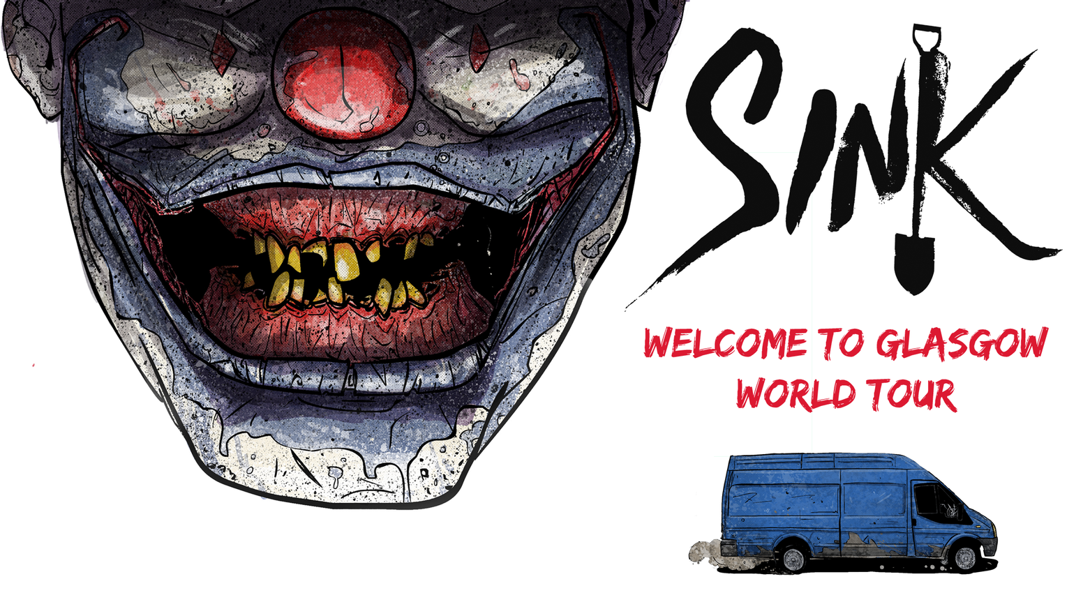 Killer clowns in a blue van, shovel-wielding vigilantes, and the last bus you'd ever want to ride... You must be in Sinkhill.