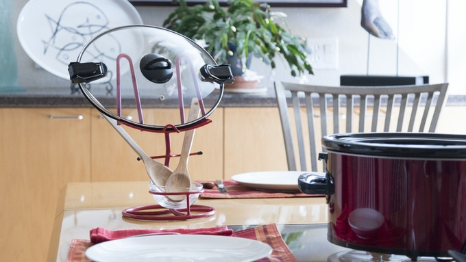POTCOV is also useful on the tabletop for you dish covers