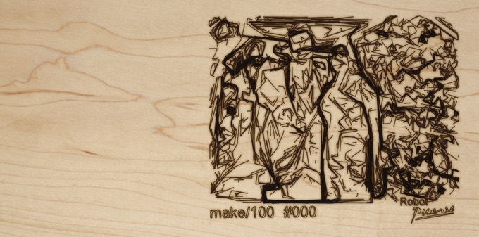 You could use the DXF file for laser engraving on any material you choose