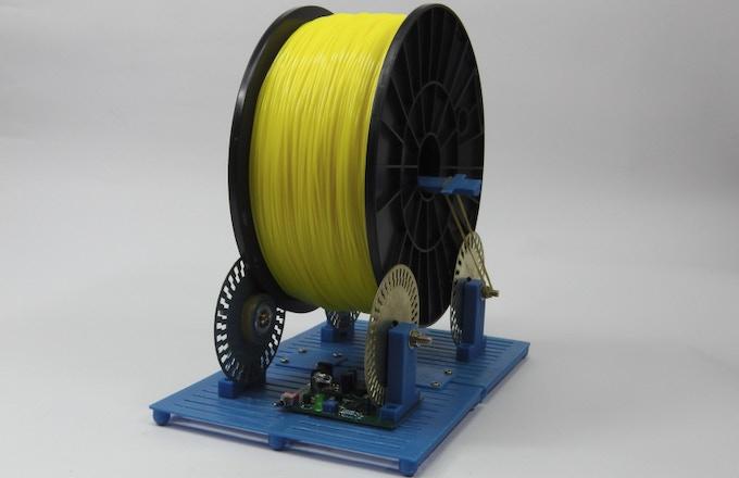 Assembled Filament Roller, Spool Version