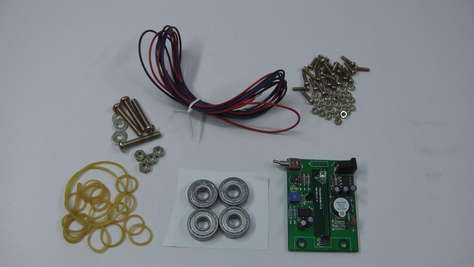 Example Spool Kit (better cable will be provided)
