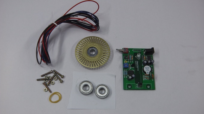 Example Inline Kit w/Printed and Painted Wheel