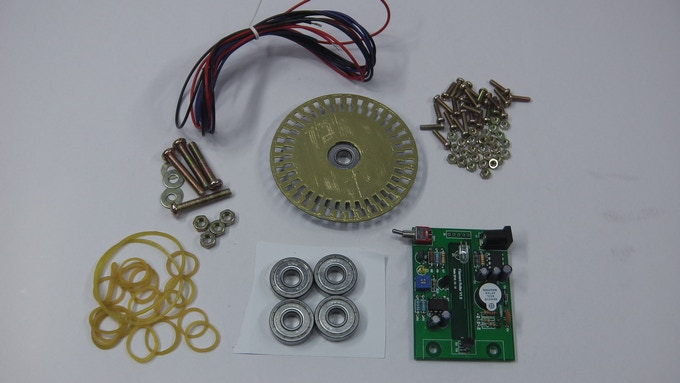 Example Spool Kit w/Printed and Painted Wheel