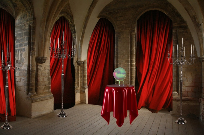 """Installation artist Vivian Charlesworth will create a """"mood board"""" that will interact you to further story lines and offer clues and information for the larp and game """"Questing"""" (Side Quests)."""