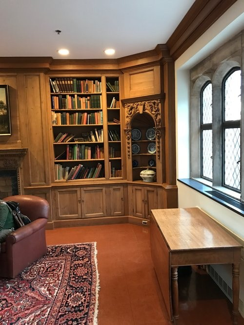 """A unique and one of a kind """"Larp Escape Room"""", the Lair Library of an Ancient Draconian Wizard, will be accessible to unlock information and obtain magical items to """"level up."""" (This is how it looks when undecorated :)"""