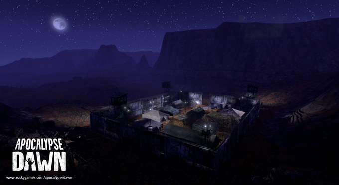 Guild base in the desert