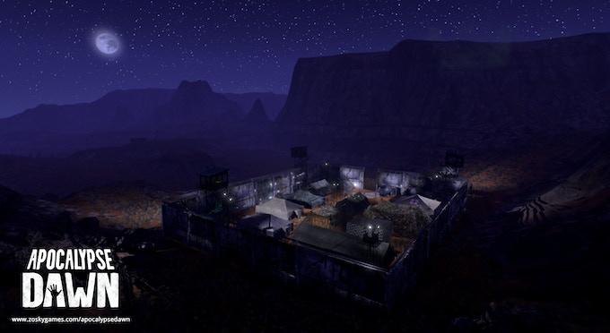 Guild base in the desert