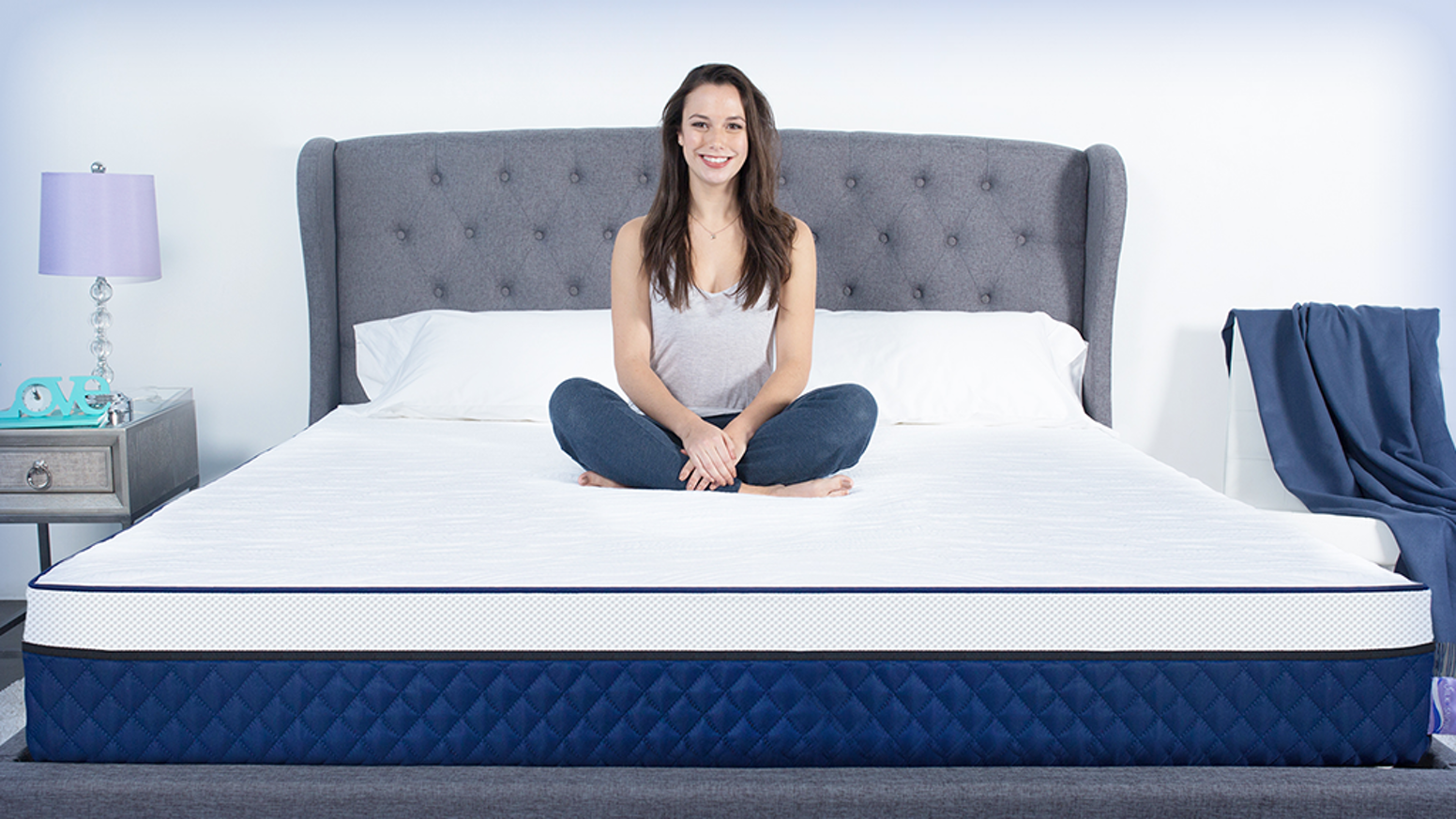 Our premium foam mattress uses the science of silver to prevent the growth of unwanted bacteria while you sleep.