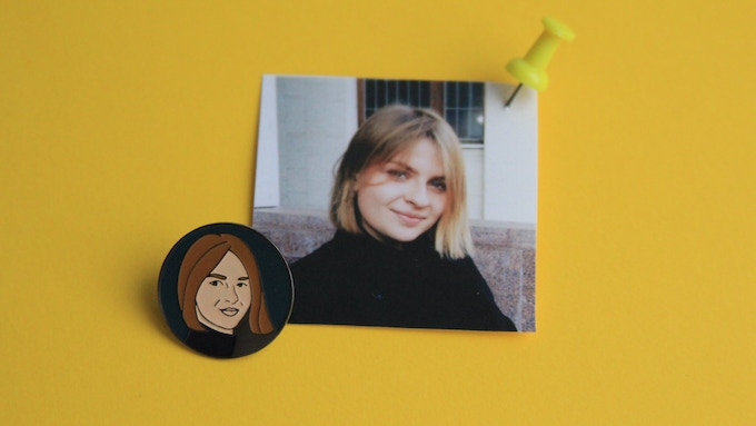 My name is Marina and I'm a co-founder of PINAT pins