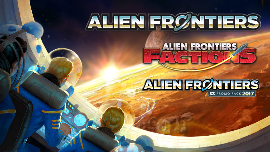 Seven years after the game's original 2010 release, Alien Frontiers relaunches for a new generation with these definitive editions.