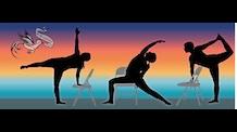 Pull Up A Chair Yoga for Balance & Flexibility DVD