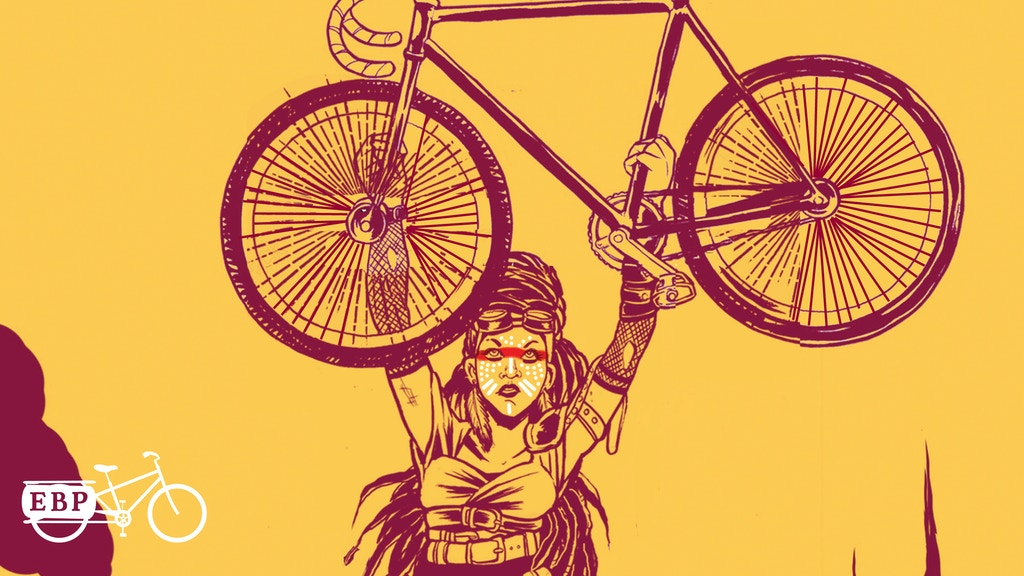 Biketopia: Feminist Bicycle Science Fiction Stories project video thumbnail